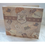 Large Scrapbook.  TRAVEL.  Including 10 coordinating 12x12 papers