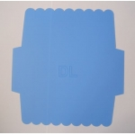 DL Envelope With an Edge Template, slim - business size