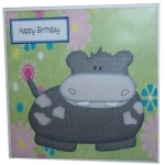 A4 Template With Style HIPPO, Just Great for Kids!