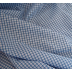 1m GINGHAM Polycotton fabric. 4mm,1/8