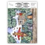 Framin' Cards Decoupage, 2 Sheet Pack, SCARECROW GARDEN