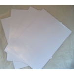 A4 Double Sided Sticky Sheets.  Very hi-tack. Papers, Fabrics. Great for Diecutting