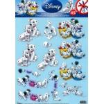 3D Die Cut Decoupage Sheet, Dalmation Puppies, Disney