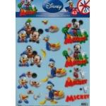 3D Die Cut Decoupage Sheet. Mickey Mouse & Friends