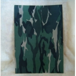 A4 Cardstock,  250gsm, CAMOUFLAGE Woodland Green
