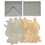 Pinflair STAND EASY CARDS. Set 2. CHRISTMAS