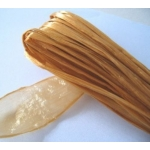 Pack FAUX RAFFIA,  Shiny Rayon - strong. 20m. ANTIQUE GOLD
