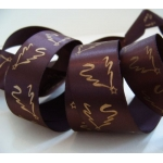 by the METRE. SATIN Christmas Ribbon 25mm wide (1