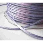 By the Metre, LAVENDER LILAC Satin RATTAIL RIBBON Cording 2mm