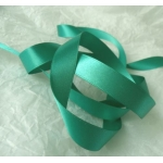 25m Reel. SATIN Ribbon 15mm wide. TURQUOISE (Col.S174)