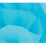 Blue Turquoise TISSUE PAPER Pack, 10 Lge Sheets