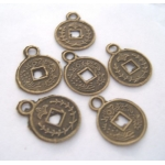 Metal Charms CHINESE 12mm **CLEARANCE**