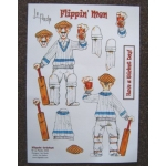 Flippin' Men Decoupage FLIPPIN' CRICKET