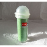 Ultra-Fine GLITTER.  Shaker pot. LIGHT GREEN