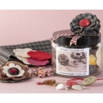 VINTAGE CORSAGE Kit.  Contains all you need to make 3 beautiful Vintage style Corsages