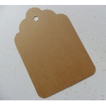 Luggi Traditional Tags. Pack  6 Super Tags 120mm (4.75
