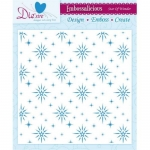 Embossalicious STAR OF WONDER 8 X 8 Embossing Folder Die-sire