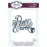 Craft Dies by Sue Wilson PEACE ON EARTH  - FESTIVE COLLECTION