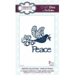 Craft Dies by Sue Wilson DOVE OF PEACE  - FESTIVE COLLECTION
