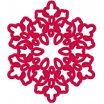 Crafts Too SNOWTIME Snowflake Die Cutting & Embossing Stencils