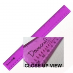 "Dovecraft 12"" (30cm) Metal Edge Craft Ruler with piercing holes"