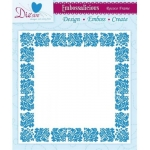 Embossalicious ROCOCO FRAME Border 6 X 6 Embossing Folder Die-sire