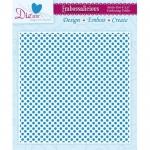 Embossalicious PETITE DOT 6 X 6 Embossing Folder Die-sire