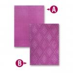 Spellbinders M-Bossabilities GRADUATED DOTS 8x12 A4 Reversible Embossing Folder