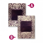 Spellbinders M-Bossabilities FRAMED LABELS ONE 5x7 Reversible Embossing Folder