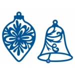 Marianne Creatables, Die Cutting & Embossing Stencils BAUBLES