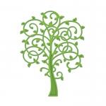 Spellbinders Die D-Lites WHIMSICAL TREE Die Cutting & Embossing Stencil