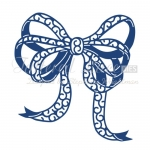 Tattered Lace Die Large SCRUFFY BOW