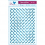 Embossalicious HOLIDAY HOLLY A4 Embossing Folder Die-sire