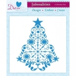 Embossalicious O CHRISTMAS TREE 6 X 6 Embossing Folder Die-sire