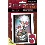 SUGAR SKULL Metal Die PERFECT PARTNERS by Sheena Douglass DAY OF THE DEAD