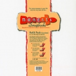 Moments, Page Protectors Refill Pack for 12 x 12 Scrapbook