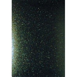 A4 Sheet Super Sparkle GLITTER CARD.  Raven Jet Black