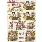 3D Decoupage Sheet CATS and KITTENS