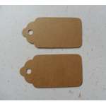 Luggi Traditional Tags. Pack 20 Medium 63mm (2.5