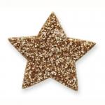 Fabulous Glitter Stars. Self Adhesive. GOLD