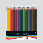 24 Full Length Colouring Pencils in Wallet
