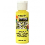 DecoArt Crafter's Acrylic Paint  59ml, Daffodil Yellow