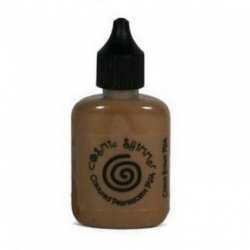 Cosmic Shimmer CHOCO BROWN Pearly PVA Glue 30ml