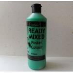 POSTER PAINT, Ready Mixed. 170ml Bottle. GREEN