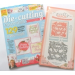 Die Cutting Essentials Magazine 22 FREE Floral Panel Happy Birthday Die