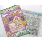 Die Cutting Essentials Magazine 24 FREE 6 piece nesting matting die set