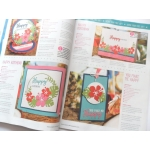 Die Cutting Essentials Magazine 26 FREE 3 die set & 9 all-occasion stamps JUNGLE BAMBOO