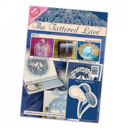 The Tattered Lace Magazine, Issue 13 includes Georgina Art deco Lady Die