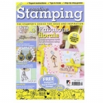 Creative Stamping Magazine,  FREE exclusive Floral Flourish Stamps (worth £20)