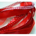 Debbi Moore REDS Fancy Ribbon Combo, 5 x 1m